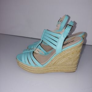 💜{charlotte russe} wedge sandals
